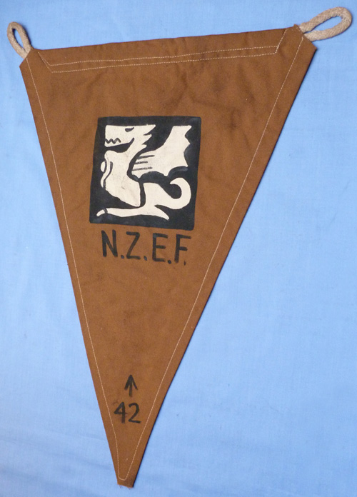 WW2 New Zealand 4th Armoured Brigade Regimental Pennant