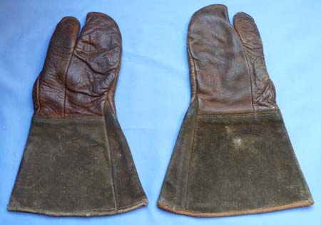Original British WW1 Royal Flying Corps Officer's Gauntlets