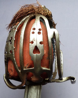Scottish 1750-1800 Highland Infantry Officer's Basket-hilted Broadsword