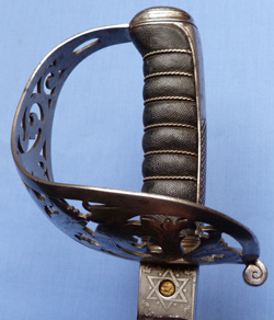 Scottish 19th Century 1857 Pattern Field Officer's Sword – Named Wilkinson
