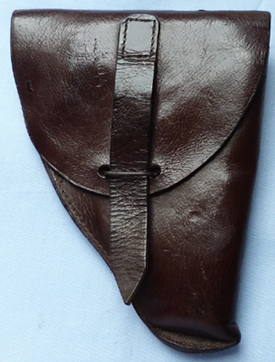 WW1 Belgian or French Leather Military Holster