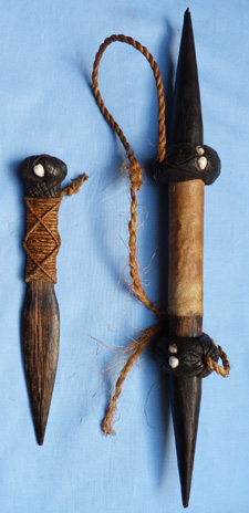 C.1900′s South Seas Wooden Knife and Weapon