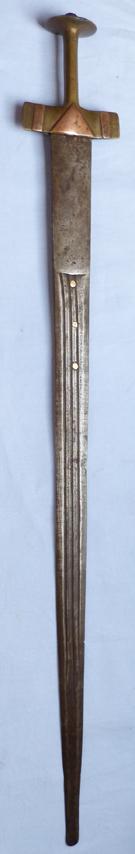 sudanese-brass-kaskara-sword-1