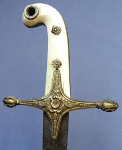 turkish-19th-century-mameluke-sword-2