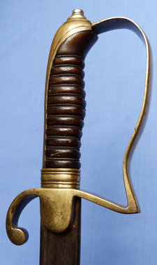 Ottoman Turkish C.1900′s Infantry Officer's Sword