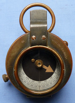 British Army WW1 Vernier's 1915 Military Marching Compass