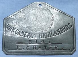 ww1-cameron-highlanders-bed-plate-1