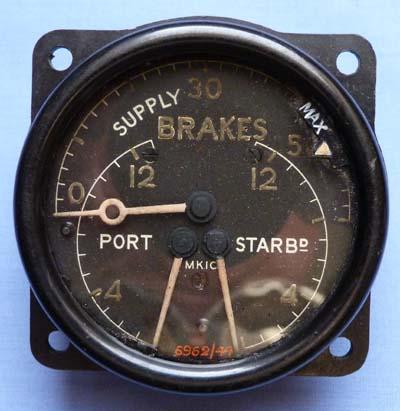 ww2-british-brakes-aircraft-gauge-1