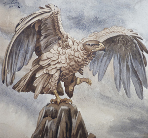 ww2-eagle-watercolour-painting-2