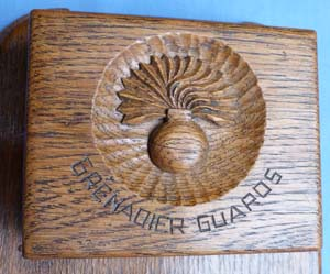 British C.WW2 Grenadier Guards Cigarette Box