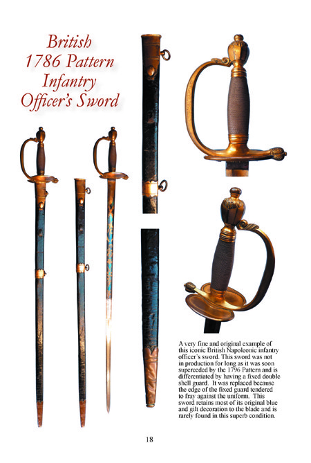 BRITISH NAPOLEONIC INFANTRY SWORDS PART ONE 7